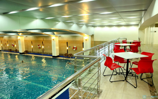 Vé bơi nước nóng không giới hạn + Đồ ăn tại Hapu Swimming Pool - 4