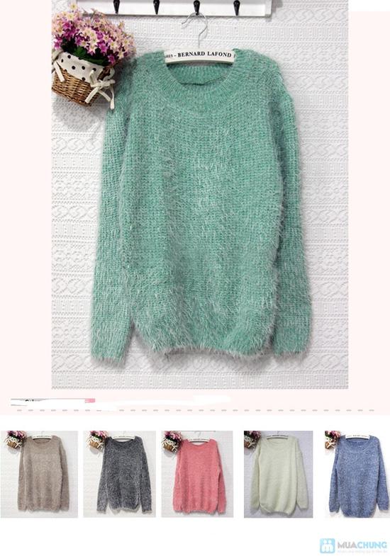 áo len bông xù - 17