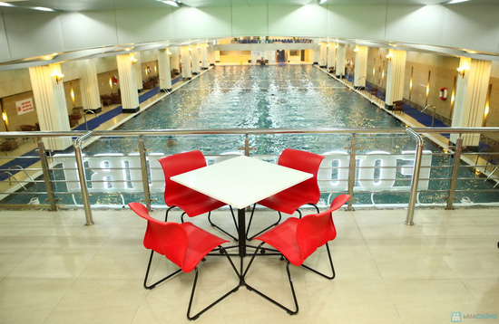 Vé bơi nước nóng không giới hạn + Đồ ăn tại Hapu Swimming Pool - 5