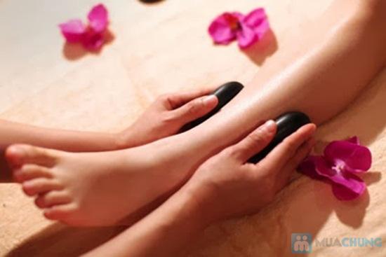 Massage body đá nóng với tinh dầu hoặc kem tại Ngọc Trâm Spa - 3