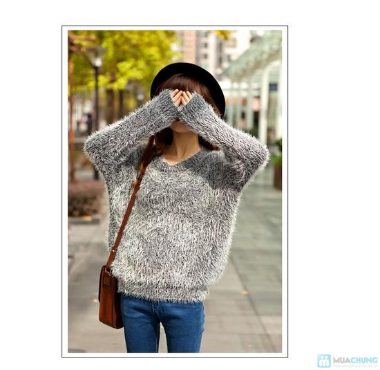 áo len bông xù - 15