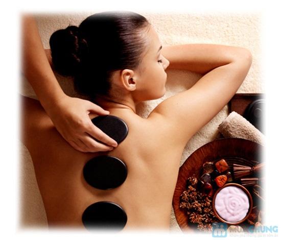 Massage body đá nóng với tinh dầu hoặc kem tại Ngọc Trâm Spa - 2