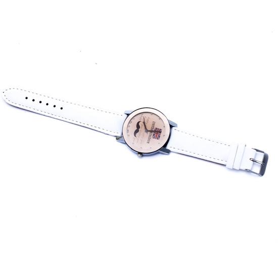 Đồng hồ hình râu cá tính