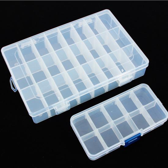 2 hộp đựng đồ trang sức loại 10 và 24 ngăn