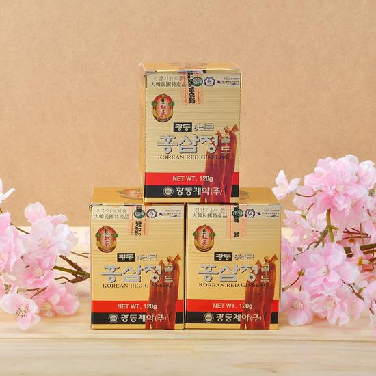 Hộp 3 lọ cao hồng sâm Kwang Dong 6 năm