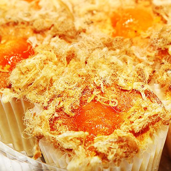 7 Bánh bông lan Chà bông Trứng muối
