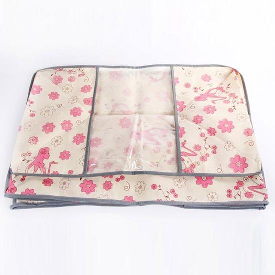 Túi vải đa năng họa tiết hoa