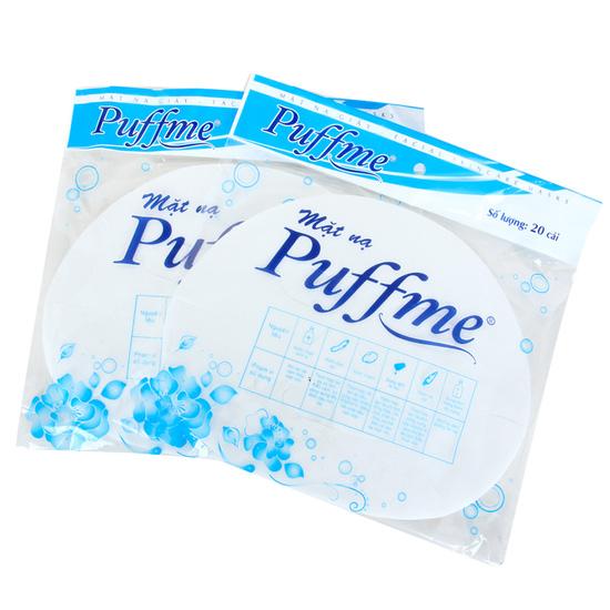 Combo 2 hộp bông tẩy trang + 2 túi mặt nạ giấy