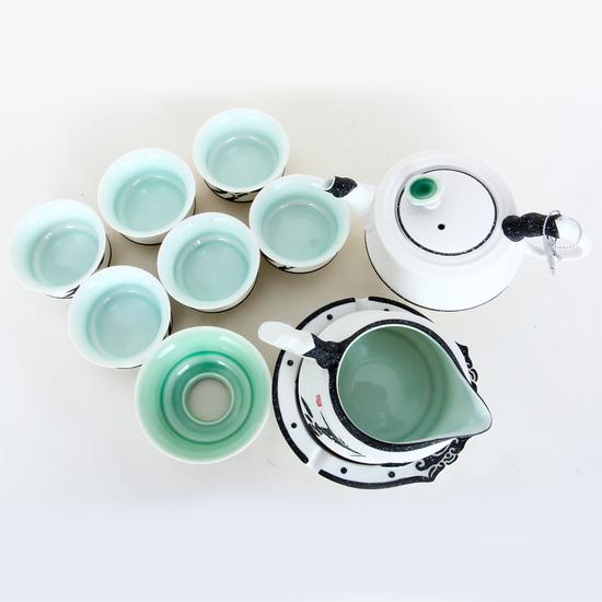Bộ ấm chén trà cao cấp PT013c