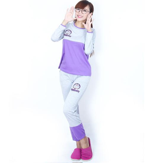 Bộ mặc nhà thu đông Doraemon