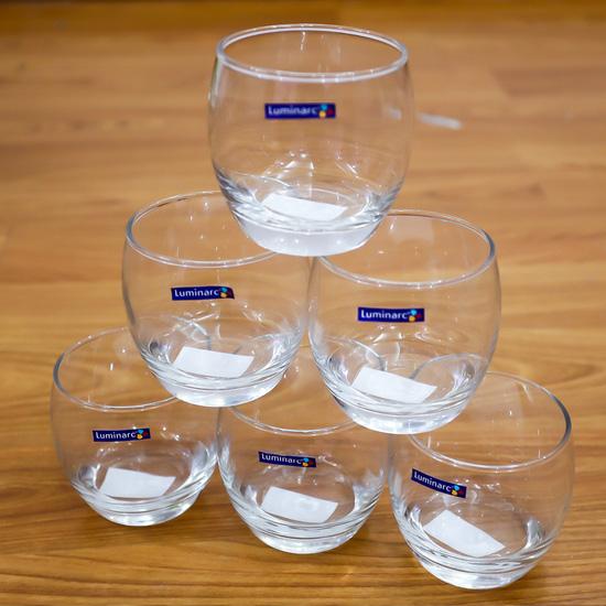 Bộ 6 cốc thủy tinh Luminarc