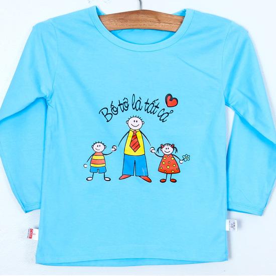 3 áo phông dài tay cho bé trai