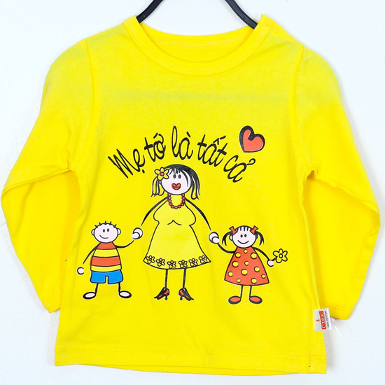 3 áo phông dài tay cho bé gái