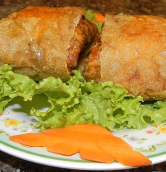 10 chiếc nem cua bể Bếp Việt