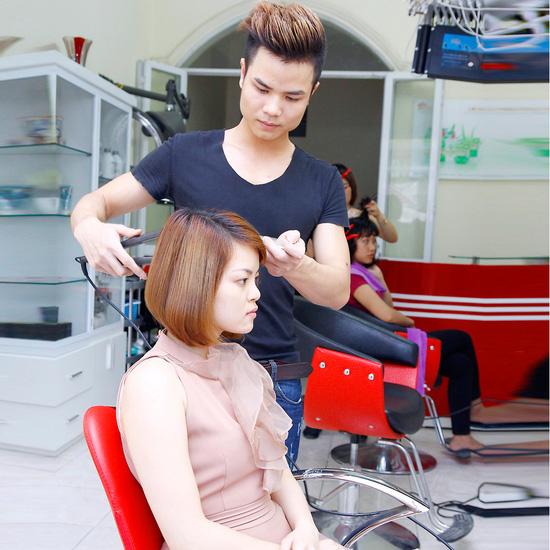 Trọn gói làm tóc tại Hùng David