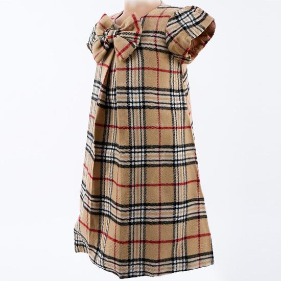 Váy dạ 2 lớp kẻ ô ấm áp