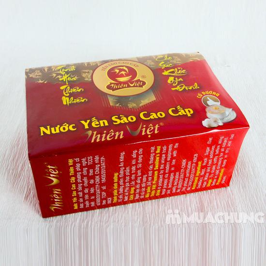 Nước yến sào cao cấp Thiên Việt - 6 lọ/hộp