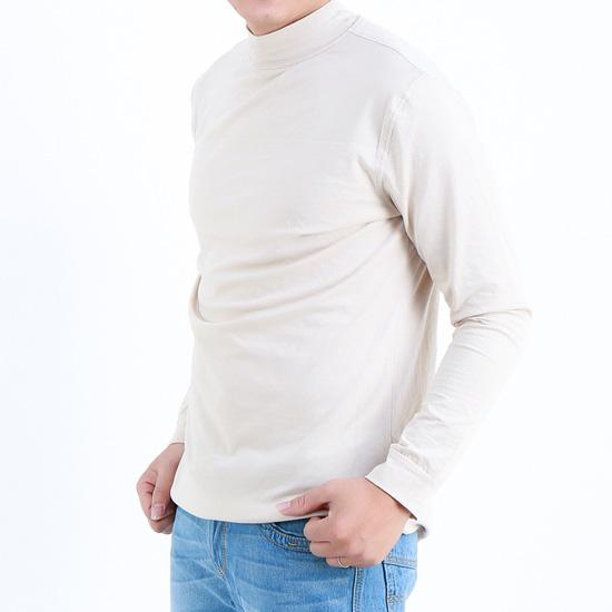 2 áo cotton cổ lọ cho chàng