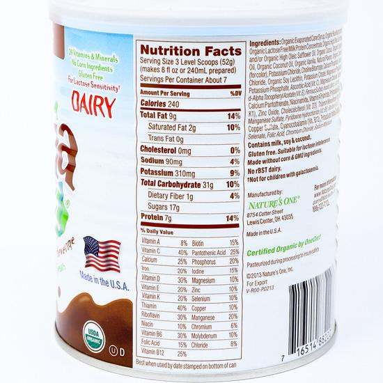 Sữa Organic Pediasmart 360gr