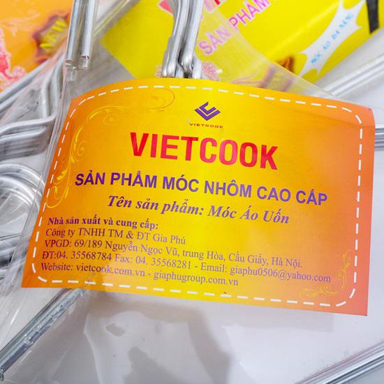 Tiện lợi với bộ 4 loại móc treo quần áo Vietcook