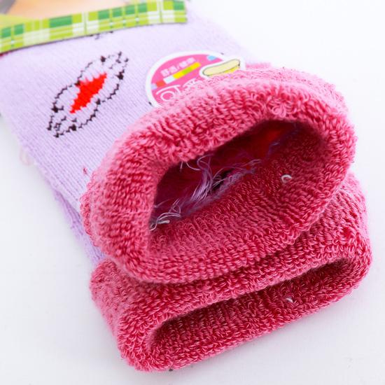 Combo 5 đôi tất len cổ bẻ ấm áp