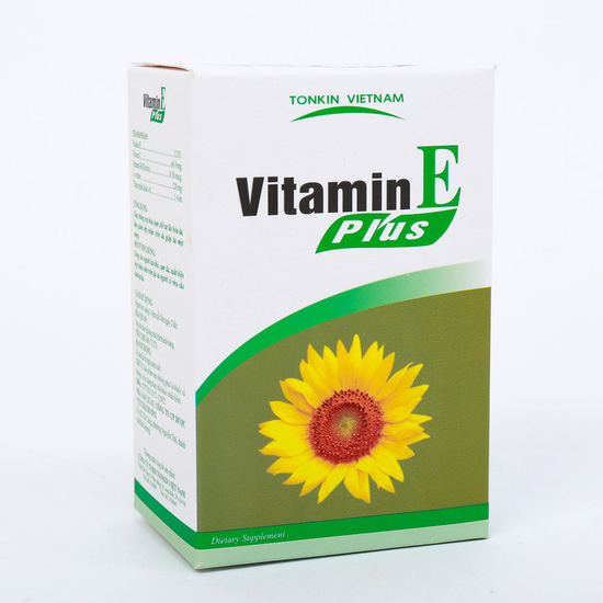 Vitamin E Plus giảm nếp nhăn, chống nám, giúp da mịn màng