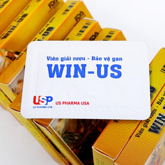 5 hộp viên giải rượu Win - US (4 viên/ 1 hộp)