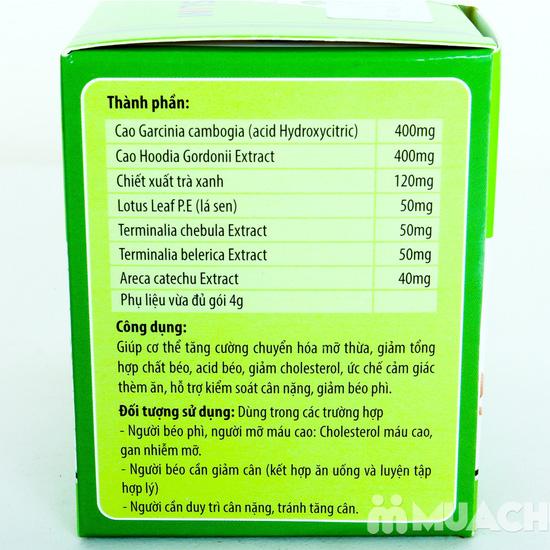 2 hộp TPCN Trà giảm cân Kingphar 15 gói