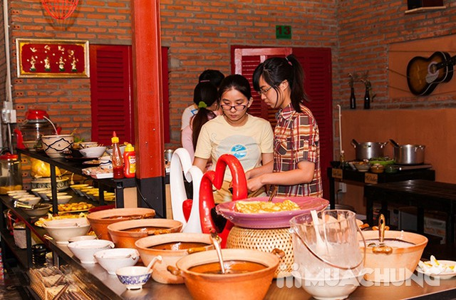 Buffet ăn vặt hơn 39 món Bắc-Trung-Nam Thị Buffet thỏa thích với các món ăn đường phố quen thuộc - 29
