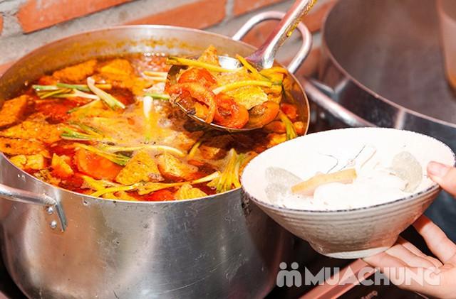 Buffet ăn vặt hơn 39 món Bắc-Trung-Nam Thị Buffet thỏa thích với các món ăn đường phố quen thuộc - 16