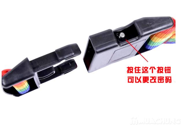 Combo 2 Bộ dây đai khóa số chắc chắn cho vali - 2