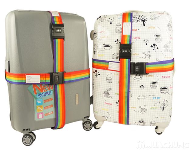 Combo 2 Bộ dây đai khóa số chắc chắn cho vali - 3