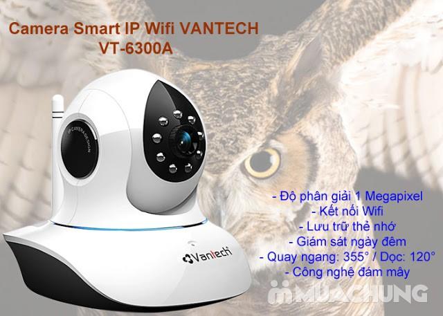 Camera wifi không dây thông minh Vantech 6300A - 8