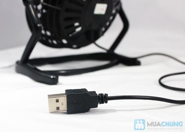 Xua tan cái nóng cùng quạt mini USB nhỏ gọn - Chỉ 73.000đ