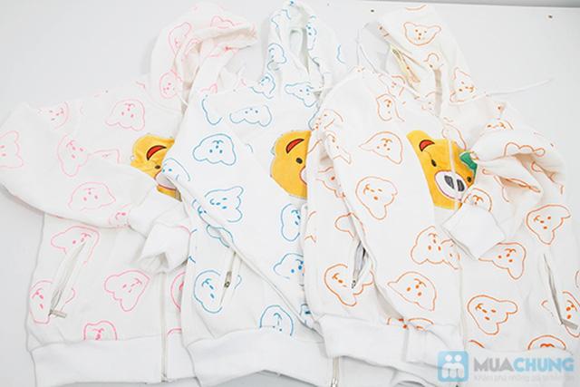 Áo khoác hình mặt gấu cực cute - Thích hợp cho cả mùa nắng và lạnh - Chỉ 110.000đ/ 01 chiếc