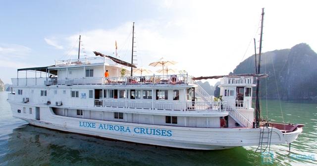 Khám phá vẻ đẹp Vịnh Hạ Long trên du thuyền Aurora 3 sao, trọn gói 2 ngày 1 đêm - Chỉ 1.515.000đ/người