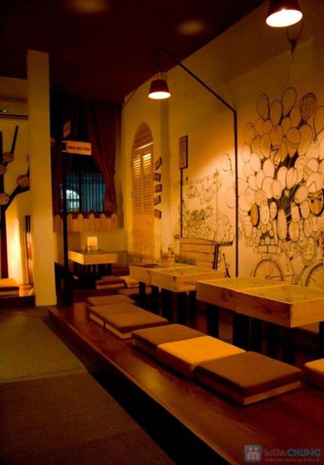 Thưởng thức các loại đồ uống thơm ngon trong không gian độc đáo tại Cafe Gõ Cóc Cóc - Chỉ 30.000đ được phiếu trị giá 60.000đ - 13