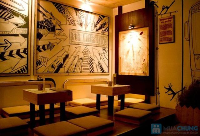 Thưởng thức các loại đồ uống thơm ngon trong không gian độc đáo tại Cafe Gõ Cóc Cóc - Chỉ 30.000đ được phiếu trị giá 60.000đ - 11