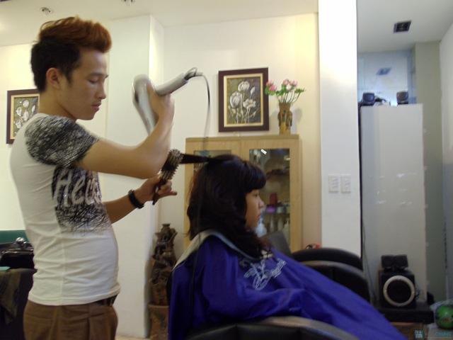 Cắt + Sấy + Tạo kiểu tóc tại Sabi Spa - Chỉ với 350.000đ - 5