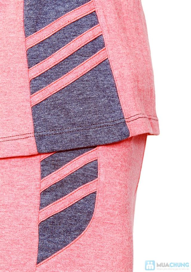 Bộ đồ mặc nhà Haprosimex (Có 2 màu hồng, ghi, hàng xuất Nhật) - 1