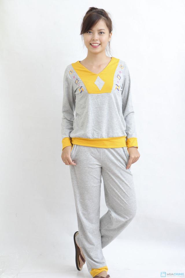 Bộ quần áo mặc nhà mùa thu đông cho bạn gái - 7