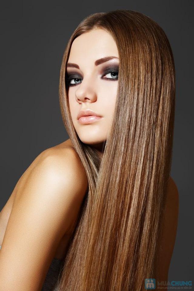Lựa chọn 01 trong 03 dịch vụ làm tóc: Uốn máy,  Ép hoặc Nhuộm tại Salon tóc Hoan Karo - Chỉ với 195.000đ - 4