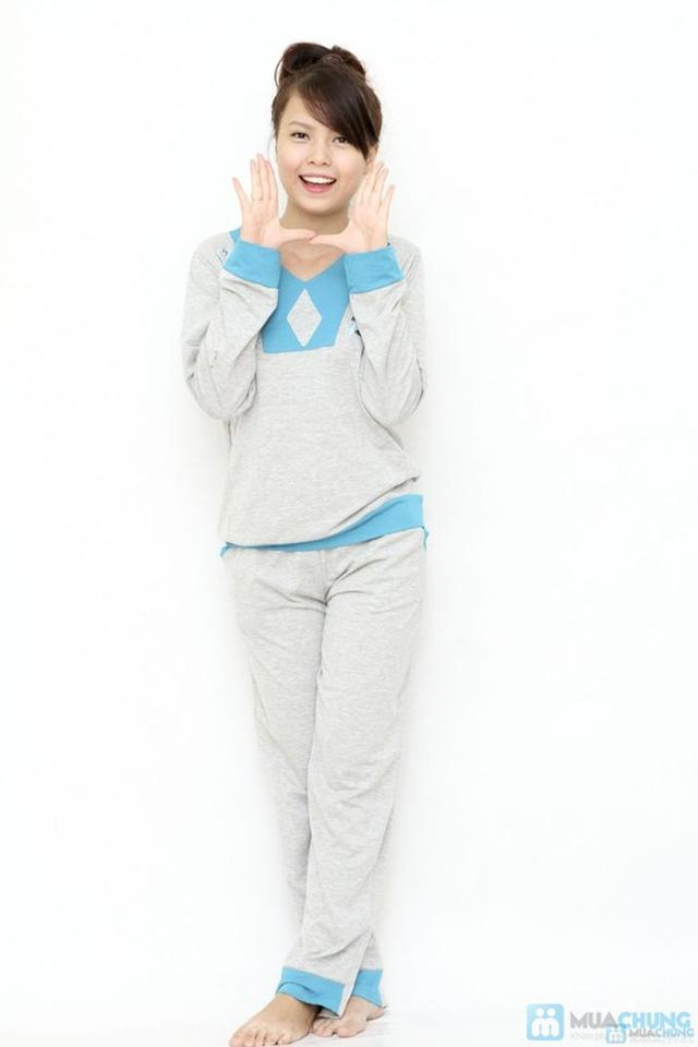 Bộ quần áo mặc nhà mùa thu đông cho bạn gái - 3
