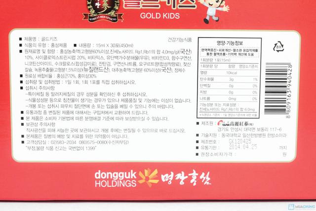 Bồi bổ sức khỏe cho bé với Tinh chất nước hồng sâm cho trẻ em Gold Kids - Chỉ với 880.000đ - 4