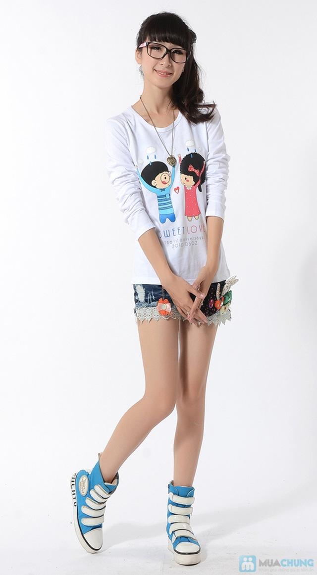 Áo phông nữ dài tay duyên dáng mùa thu - Chỉ 85.000đ/01 cái - 3