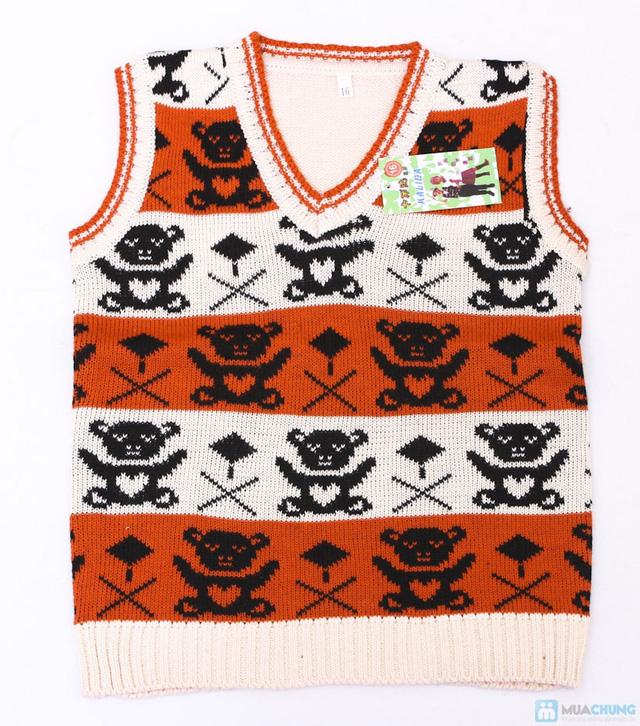 Combo 02 áo len gile cho bé trai - 4