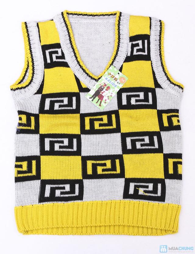 Combo 02 áo len gile cho bé trai - 3