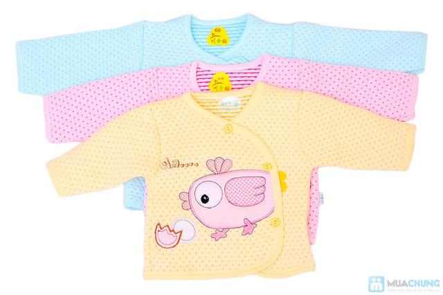 Bộ quần áo bông cho trẻ từ 0 - 6 tháng - 7
