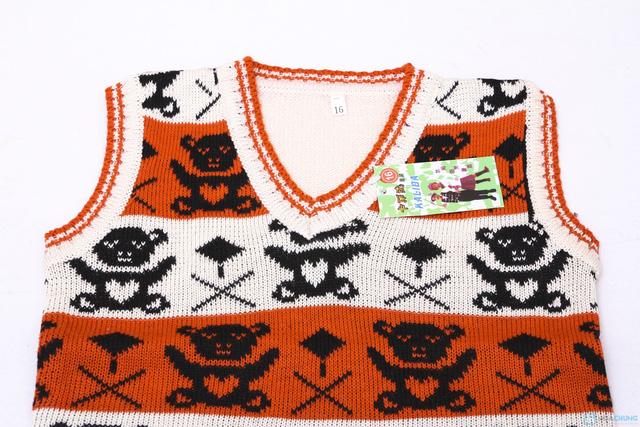 Combo 02 áo len gile cho bé trai - 5
