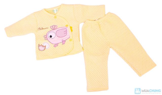 Bộ quần áo bông cho trẻ từ 0 - 6 tháng - 1
